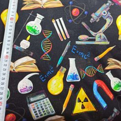 Science, Chemical, Dna, French Terry, Unisex, 4 Way stretch