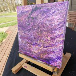 Purple Whirls