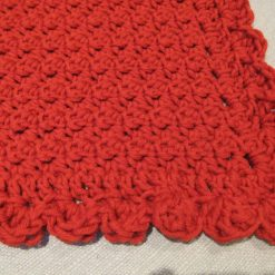 Crocheted Red Throw by SerendipityGDDs 2