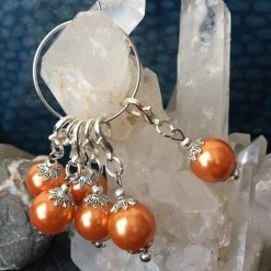Stitch Markers-Vintage Pearls