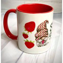 Strawberry Gnome Mug