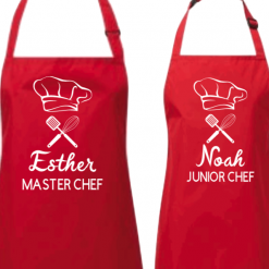 Personalised apron with name/kitchen apron/Personalised apron/Family Apron /Kids Apron Housewarming Gift/Mother Gift/Father Gift/Bakers Gift/gift for her -Gift for him and mum, dad