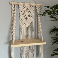 Macramé Shelf Hanging - Twist