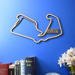 Silverstone Grand Prix – British Grand Prix Circuit race track. British GP, Silverstone.