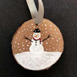 Snowman (bronze)