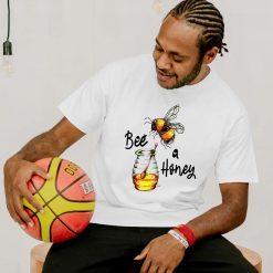 Bee a Honey - Mens T-Shirt - Artwork by the Very Talented Artist Sarah Neville - Made to Order