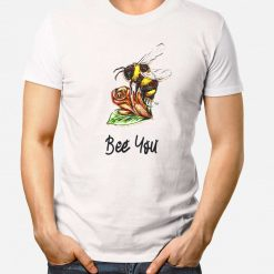 Bee You - Mens T-Shirt - Artwork by the Very Talented Artist Sarah Neville - Made to Order