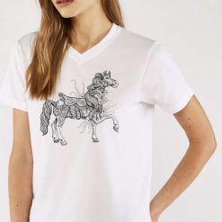 Carnival Horse - Ladies T-Shirt - Artwork by the Very Talented Artist Sarah Neville - Made to Order