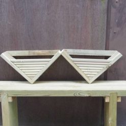 Wooden Wall Hanging Flower Planter
