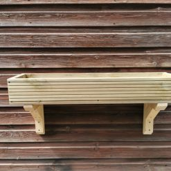 Wooden Window Box / Wall Hanging Planters Various Sizes