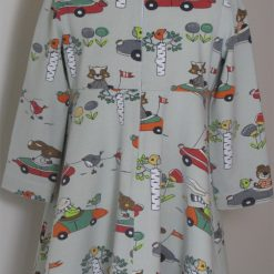 Animals in Cars Dress by SerendipityGDDs for age 2 1