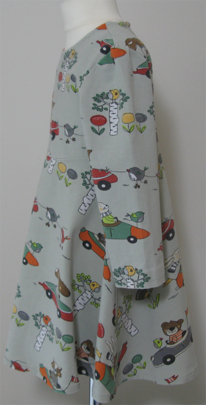 Animals in Cars Dress by SerendipityGDDs for age 2