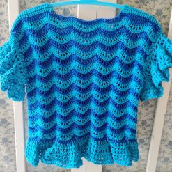 Azure Waves Cardigan by SerendipityGDDs for age 2 1