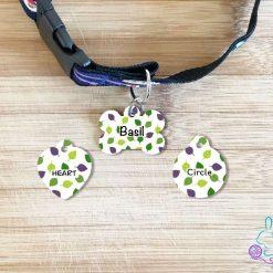 Basil dog tag