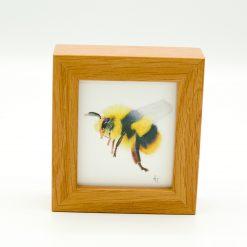Bee Miniature Box Framed Art