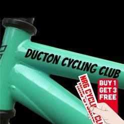 Bike Decal   Bike Sticker   Bike Frame Name Decal   MTB Sticker   Vinyl Decal   Personalised Decal   Bike Club Decal   Custom Vinyl Decal   Cycling Club Decal   Capelli