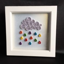 Paper Quilling Sea Frame