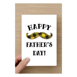 Happy Father's Day | 21st June A5 blank card
