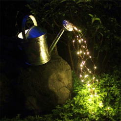 100 LED Waterfall String Fairy Lights - Warm white