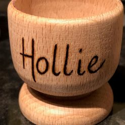 Personalised Wooden Egg Cup