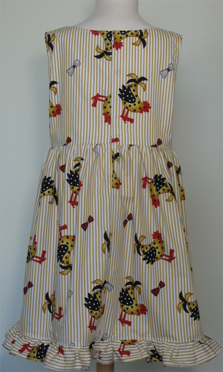 Happy Hens dress by SerendipityGDDs, for Age 7