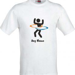 Hula Hoop Funny Sublimation T-Shirt