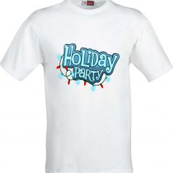Holiday Party Funny Sublimation T-Shirt