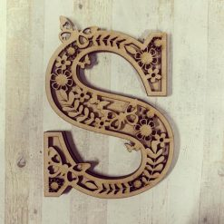Butterfly personalised hand painted Letter/Initial wall plaque