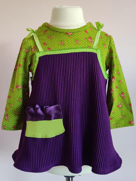 Imogen Dress & T-Shirt, by SerendipityGDDs for Age 2