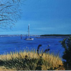 Arne Calm - A limited Edition high quality giclee print from an original painting by Caroline Marks