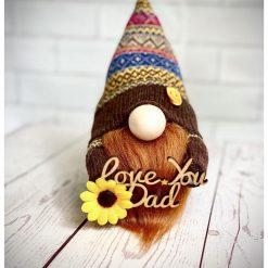 Love You Dad mini gnome