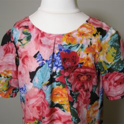 Monet Roses Dress by SerendipityGDDs, for Age 5 3