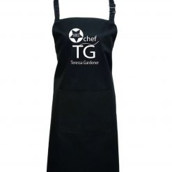 Personalised Apron, cooking, Black Apron, Aprons BBQ, Grill, Cooking Women, Restaurant, Kitchen, pocket black, Chef apron, head chef, master chef