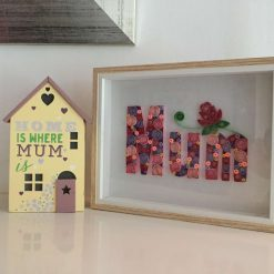 Paper Quilling Mum Word Frame