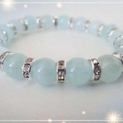 Aquamarine Elastic Bracelet