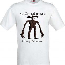 Sirenhead Funny Sublimation T-Shirt