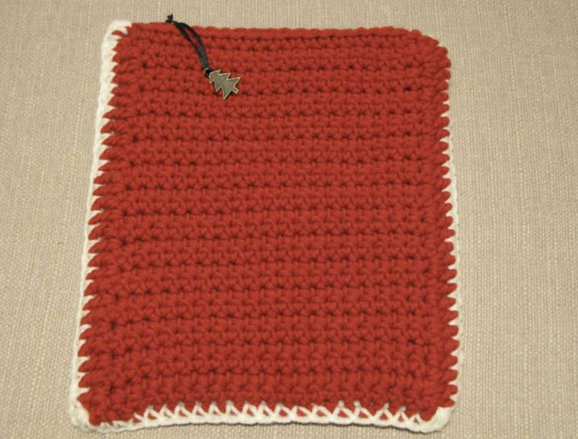 Red & White Tablet Cover by SerendipityGDDs
