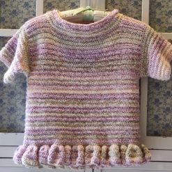 Viola Crocheted Tunic by SerendipityGDDs, for 7 or 8 5