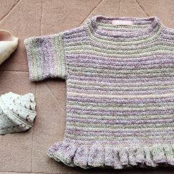 Viola Crocheted Tunic by SerendipityGDDs, for 7 or 8 1