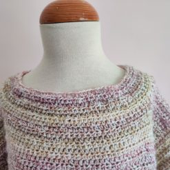 Viola Crocheted Tunic by SerendipityGDDs, for 7 or 8 3