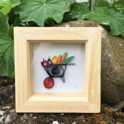 Paper Quilling Wheelbarrow Frame
