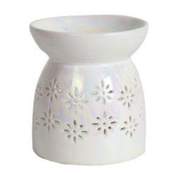 Floral Pearlescent Wax Melt Warmer