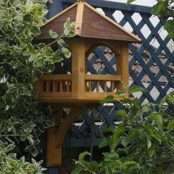 Gazebo bird feeding table 13 inch