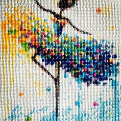 Colorful Ballerina