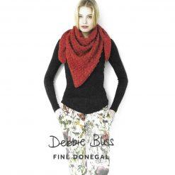 Womens Triangular Lace Shawl Knitting Pattern • PDF Download