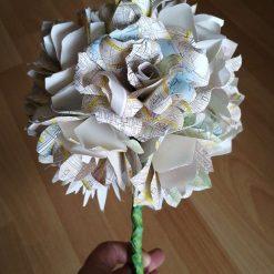 London Street map flower bouquet