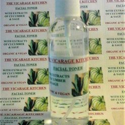 Organic Facial Cleanser & Toner, Freshener Spritz With Cucumber & Sage Extracts 125ml (CPSR) 1