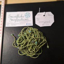 Beads - Green seed beads