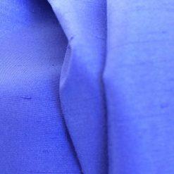 Blue dupion fabric