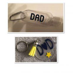 Fathers Day Set - Mug,Keyring & Sanitiser Bottle